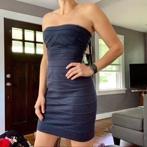 BCBGMaxazaria Navy Bandage Dress